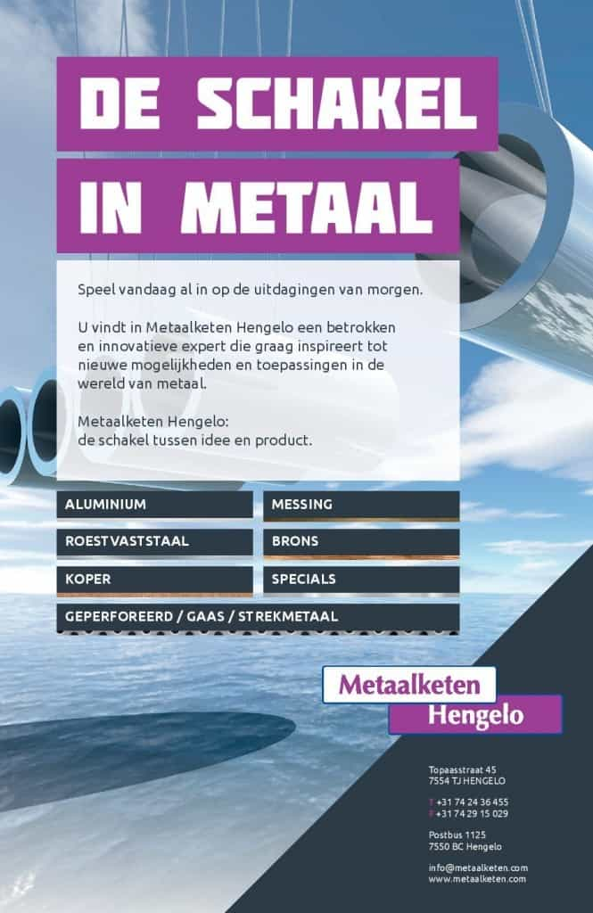 Advertentie Metaalketen in ConnecTIV beursspecial