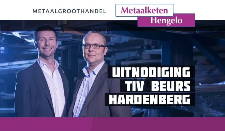 Uitnoiging TIV beurs Hardenberg