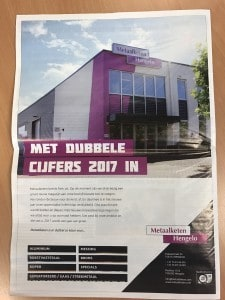 Advertentie in Metaalnieuws
